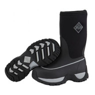 Muck Boot Rugged Boots Kids Youth Black/Silver
