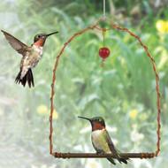 Songbird Essentials Copper Hummingbird Swing SEHHHUMS