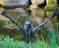 Aquascape Crazy Legs Frog Spitter Fountain with Pump