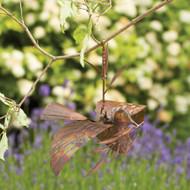 Ancient Graffiti Branch Ornament Dove Flamed
