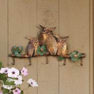Ancient Graffiti Owl Hook Quintuple