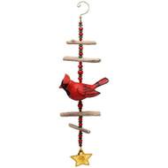 Bobbo Wind Sculpture Cardinal Windchime