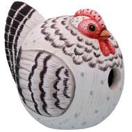 Bobbo Birdhouse Gord-O Hen Gray