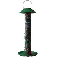 PineBush 18 inch Tube Feeder Poly Green