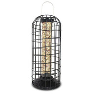 PineBush Peanut Feeder with Squirrel Blocking Cage