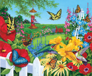 SunsOut Puzzle Birds 'n Blooms 1000 pcs