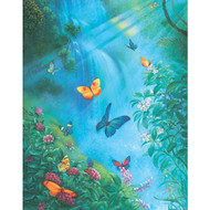 SunsOut Puzzle Butterflies in the Mist Mini 100 pcs