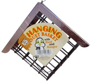C&S Products Suet Basket with Copper Roof