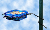 Hiatt Manufacturing Pole Mount Jelly & Mealworm Feeder