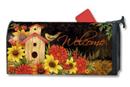 Magnet Works Autumn Birdhouse MailWrap