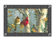 Magnet Works Cardinals In Birch MatMate