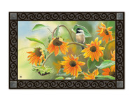 Magnet Works Sunflower Chickadee MatMate