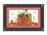 Magnet Works Strawberry Basket MatMate