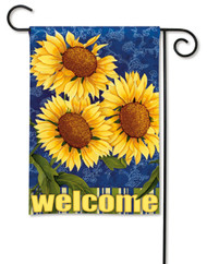 Magnet Works Sunburst Garden Flag