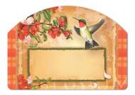 Magnet Works Hummingbird Plaid