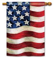 Magnet Works Liberty Standard Flag