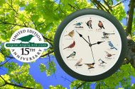 "Original Singing Bird Clock 13 ""Anniversary Edition (MFDLB023GR)"