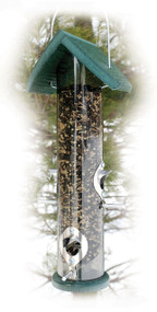 Woodlink Going Green Recycled 18 in Tube Seed Feeder