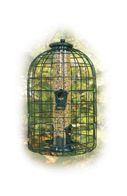 Woodlink Caged Seed Tube Feeder