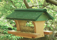 Songbird Essentials 12 inch Pivot Roof Bird Feeder
