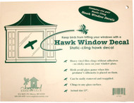 Songbird Essentials Static Cling Window Hawk 2 per pkg. (Replaces the VIHAWK)