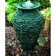 Aquascape Small Stacked Slate Urn