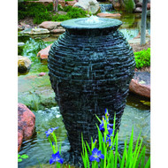 Aquascape Stacked Slate Urn - Large