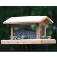 BIRDS CHOICE 6 QT. 4-SIDED HOPPER BIRD FEEDER