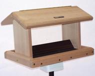 BIRDS CHOICE 5 QT. 2-SIDED HOPPER BIRD FEEDER