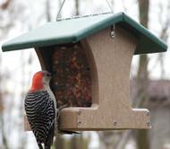 BIRDS CHOICE 1.5 QT. 2-SIDED HOPPER(RECYCLED) BIRD FEEDER
