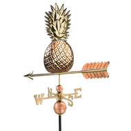 Good Directions Pineapple Weathervane - Polished Copper 9635P