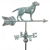 Good Directions Labrador Retriever Garden Weathervane - Blue Verde Copper w/Garden Pole  810V1G