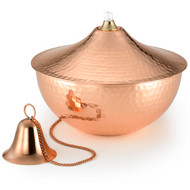 Good Directions Large Oil Lamp - Polished Copper 207CH