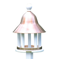 Lazy Hill Farm Designs Bell Bird Feeder with Polished Copper Roof 42513