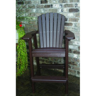Perfect Choice Furniture Bar Height Chair Mocha OFCBH-M
