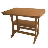 "Perfect Choice Furniture Bar Height Table 56"" Camel OFTBHLG-C"
