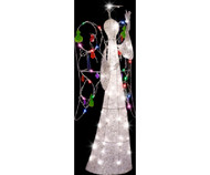 Gemmy 4 ft. Multi Color Jeweled Crystal Angel Christmas Decoration G08 85643X