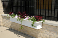 Mayne Yorkshire Window Box Planter 8ft. White 8828-W
