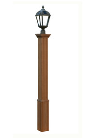 New England Arbors Trinity Lamp Post (Post Only) VA94432