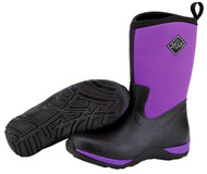 Muck Boot Arctic Weekend Black & Purple Womens Winter Snow Boots WAW-500
