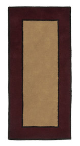 "Achla Minuteman Contemporary II Rectangular Area Rug 56"" x 26"" H-64"