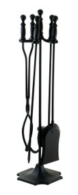 Achla Minuteman Black 4 - Fireplace Tool Set X300570