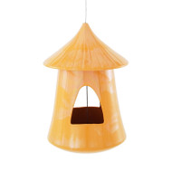 Achla Chickee Bird Feeder Orange   BF-24OR