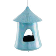 Achla Chickee Bird Feeder Aqua   BF-24AQ