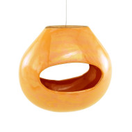 Achla Calabash Bird Feeder Orange   BF-22OR