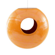 Achla Torus Bird Feeder Orange   BF-21OR