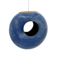 Achla Torus Bird Feeder Blue   BF-21BL