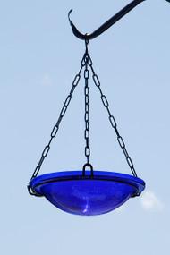 Achla Cobalt Blue Hanging Birdbath  BBH-02CB