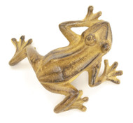 Achla Jumping Frog Tawny Statue Garden Statuary FRG-03T