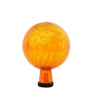 "Achla 6"" Gazing Globe Ball Mandarin Crackle G6-M-C"